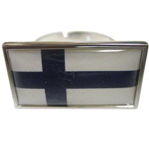 Finland Flag Fashion Ring